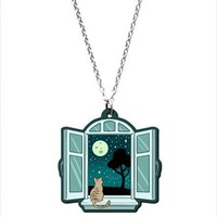 Hey Chickadee - Little Window necklace
