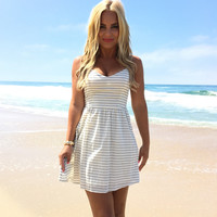 Natalie Stripe Dress