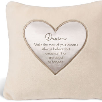 """Dream Make the most of your dreams - 16"""" Royal Plush Pillow"""