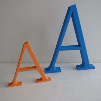 3D Printed Home Decor Custom Printed Letters Choose Your Font Signs Business Decoration Design 3-D Print Geek Geekery Art