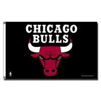 Chicago Bulls NBA 3ft x 5ft Banner Flag