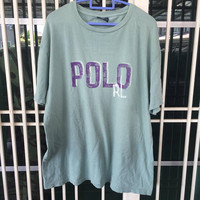 Vintage Polo By Ralph Lauren Polo RL T Shirt Size L