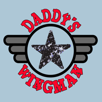 Daddys Wingman Little Boys Shirt Newborn Pilot I Love Dad Fathers Day Kids Tee Baby Jumpsuit Airplane Design Flight School 0 6 12 18 24