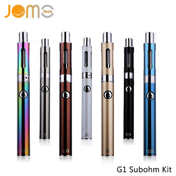 LS G1 Subohm Electronic Cigarette Kit 650mAh 30W Battery 0.5ohm Vaporizer E-cig Mechanical Mod Box Mods Pen E Cig Vape Jomo-71