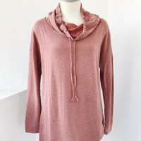 CILA SWEATER- RUST