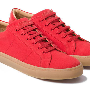The Royale Canvas Red // Gum Sole