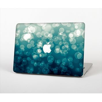 "The Green Unfocused Orbs Of Light Skin Set for the Apple MacBook Pro 13"" with Retina Display"