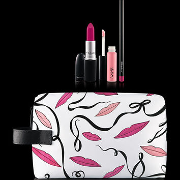M·A·C Cosmetics | New Collections > Lips > Lip Bag By Rebecca Moses: Pink x3