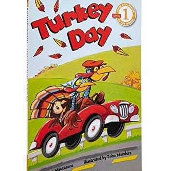 Turkey Day Scholastic Readers
