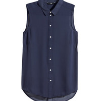 H&M Sleeveless Blouse $9.95