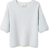 Cropped Crewneck Pullover