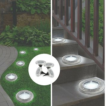Bell and Howell Solar Disk Lights