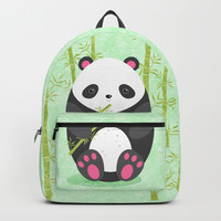 Panda Backpack by edrawings38