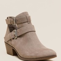 Portia Belted Cutout Bootie