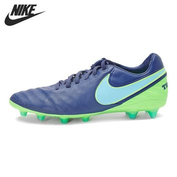 Original New Arrival NIKE TIEMPO LEGACY II AG-PRO Men's Football Shoes Soccer Shoes Sn