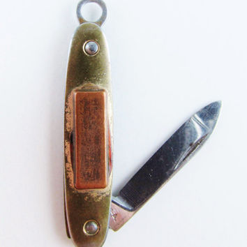 Vintage Miniature Pocket Knife