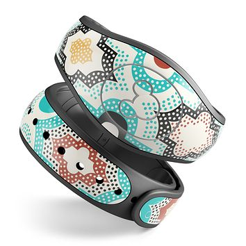 Dotted Moroccan pattern - Decal Skin Wrap Kit for the Disney Magic Band