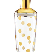 Kate Spade Two Of A Kind Gold Dot Shaker Steel/Camel ONE