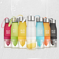 Frosted Travel Water Bottles with Storage by Baby in Motion