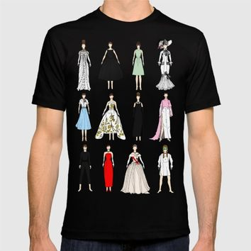 Outfits of Audrey Hepburn Fashion T-shirt by Notsniw