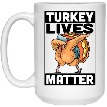 Vegan Mug - Turkey Lives Matter, Funny Vegan Gifts