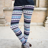 Alpine Printed Legging