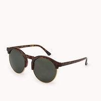 F9753 Chic Round Sunglasses