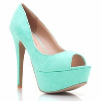 peep-toe-platforms BLACK BLUSH MINT ORANGE - GoJane.com