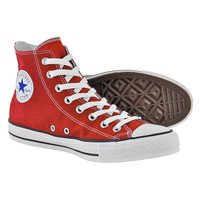 Converse All Stars red high top boots - red Converse - high tops UK