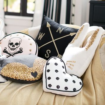 The Emily + Meritt Glitter Critter Pillows