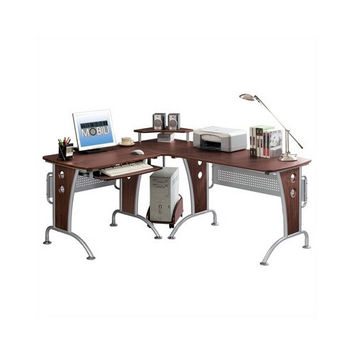 Space Saving Modern L-Shaped Computer Desk