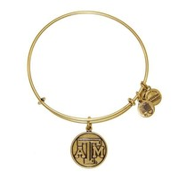 Alex and Ani Texas A&M University Logo Charm Bangle - Rafaelian Gol...