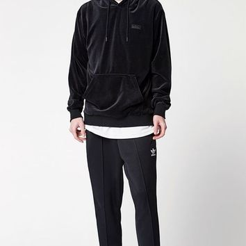 adidas Velour Pullover Hoodie at PacSun.com