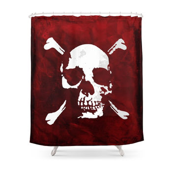 Society6 Far Cry 3 Pirate Shower Curtains