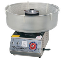 Cotton Candy Stainless Steel Tornado High Output Cotton Candy Machine - 3005SS