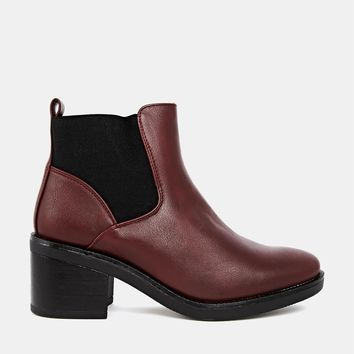 Truffle Bree Chelsea Heeled Ankle Boots