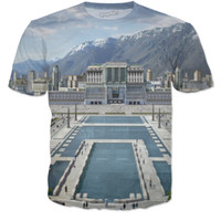 Hunger Games Environmental Scenery Tee