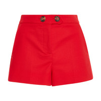 Stretch Double Cotton Cady Shorts | Moda Operandi