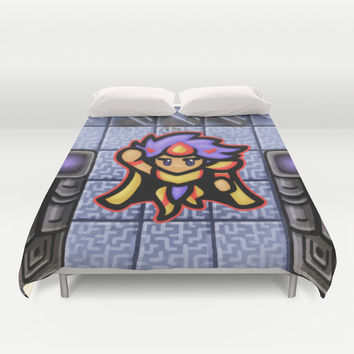 Cecil Paladin 1991 Duvet Cover by Likelikes