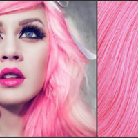 BUBBLEGUM PINK PASTEL Semi-Permanent Vegan Hair Dye 8 oz.