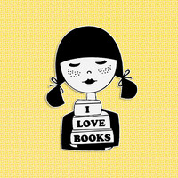 I love books brooch