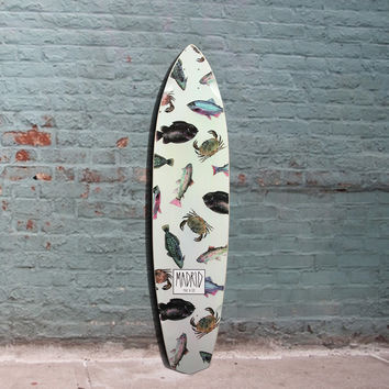 "Madrid Dude Fish Longboard - 38.75"" - Deck"