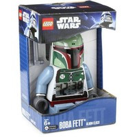 LEGO Kids' 9003530 Star Wars BOBA FETT Minifigure Alarm Clock