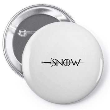 game of thrones snow Pin-back button