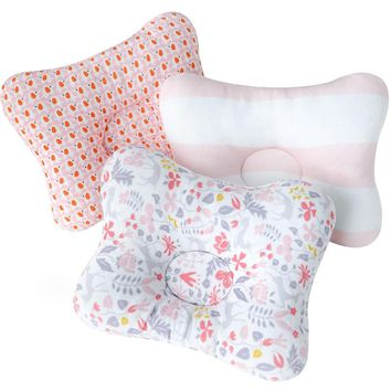 Muslinlife Baby Bedding Printed Pillow Newborn Boys Girls Nursing Pillows Soft Cotton Support Pillow Sleep Positioner Dropship