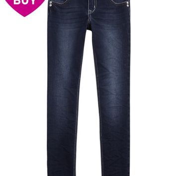SUPER SKINNY DENIM JEANS | GIRLS SUPER SKINNY JEANS | SHOP JUSTICE