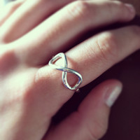 Infinity Ring by KamaKaiJewelry on Etsy