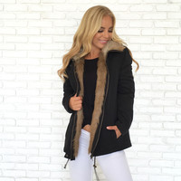 Keep Me Cozy Faux Fur Jacket