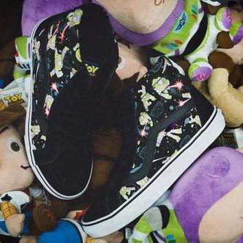 Vans x Disney High-Top Flats Sneakers Sport Shoes