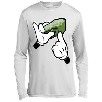 Ghetto Fat Stack Cartoon Hands  Character  T-shirt